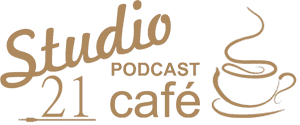 Studio 21 Podcast Cafe Mobile Logo